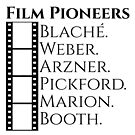 Historic Women Film Pioneers in White by GalsGuide