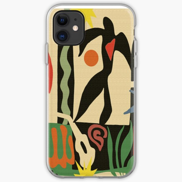 Inspired by Matisse (Vintage) iPhone Soft Case
