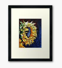 Summer Faces Framed Print