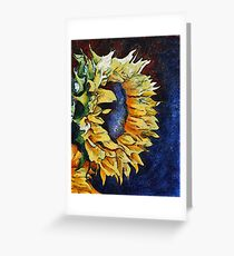 Summer Faces Greeting Card