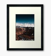 Adventure unfolds Framed Print
