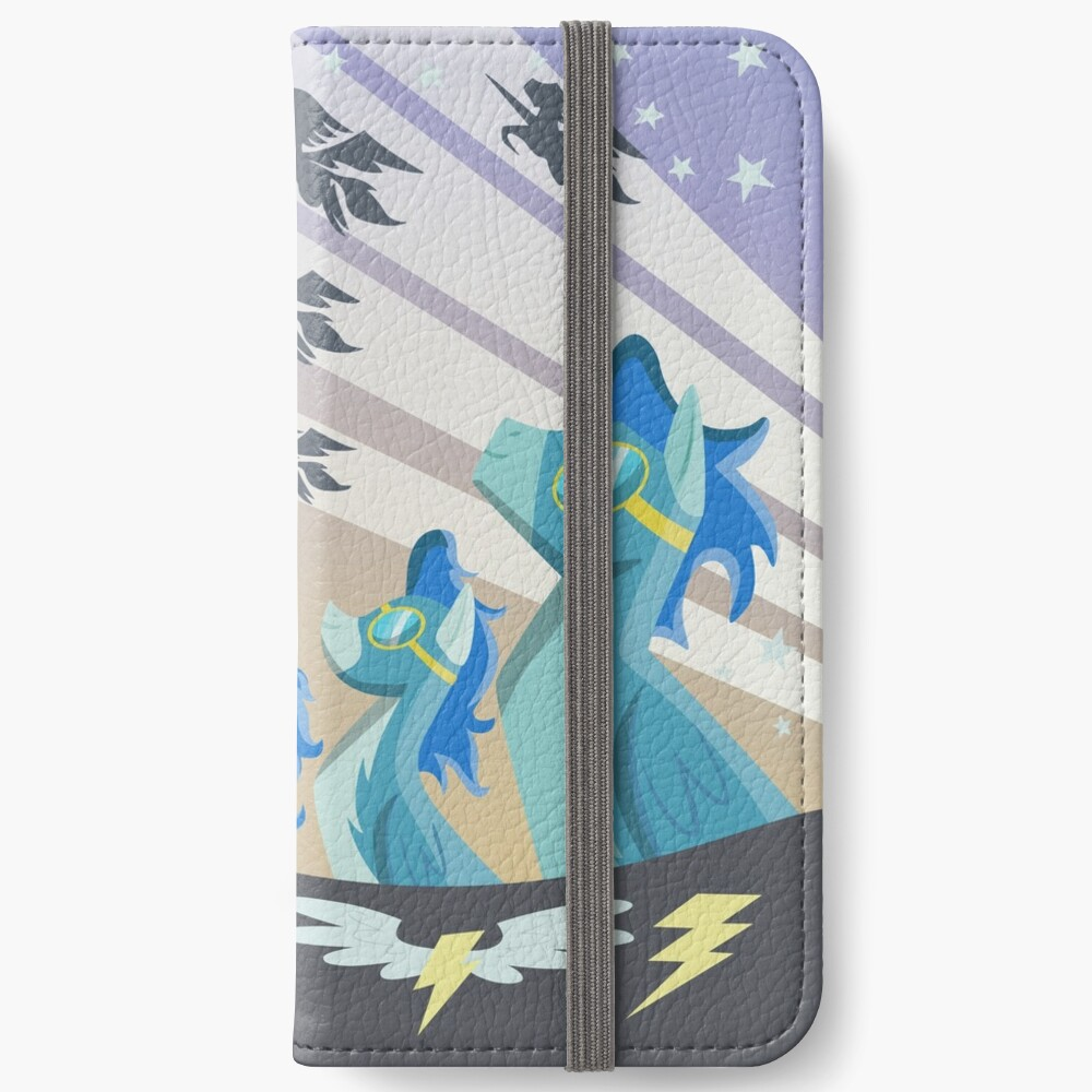 Cartel Wonderbolt Fundas tarjetero para iPhone