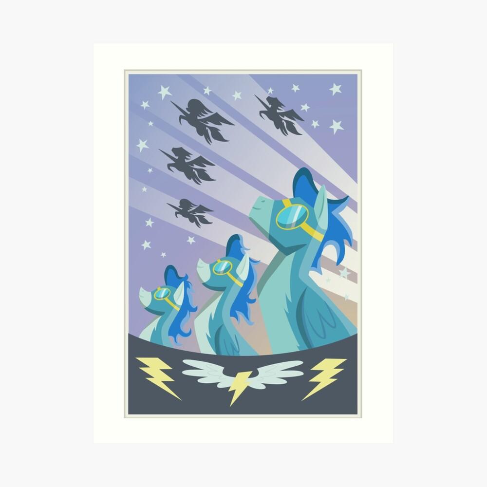 Cartel Wonderbolt Lámina artística