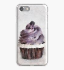 Blueberry Cupcake  iPhone Case/Skin