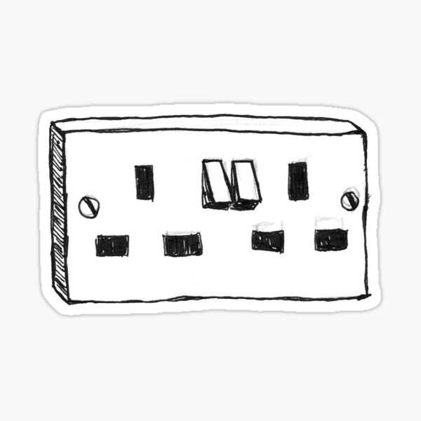 Sockets - Slaves Sticker