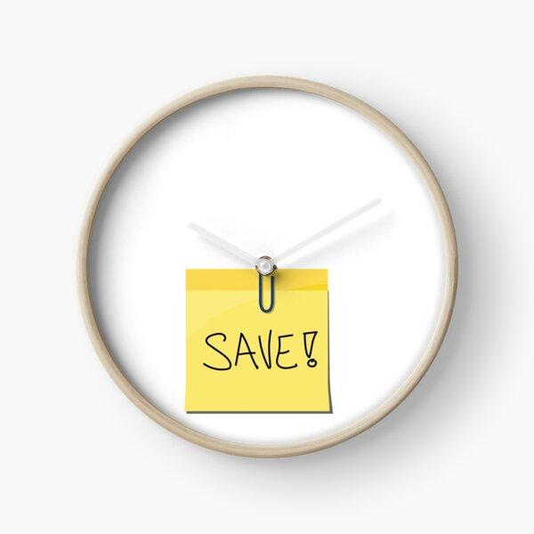 Save Clock