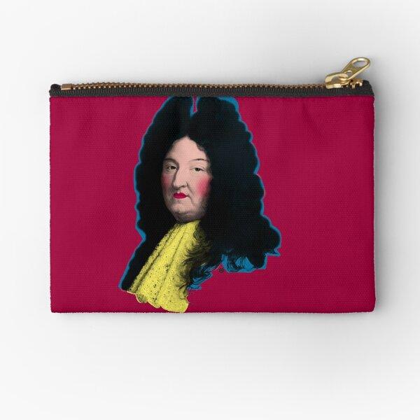 Louis XIV Zipper Pouch