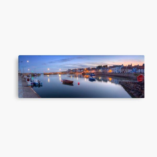 St Monans Harbour @ Dusk  Canvas Print