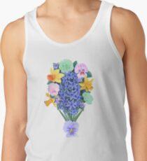 LGBTQ + Blumenstrauß Tank Top