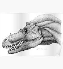 Gorgosaurus libratus Poster