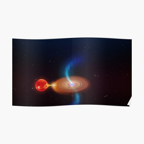 Rapidly Spinning Black Hole is Spitting Out Blobs of Plasma Black holes, those beguiling singularities that sit on the precipice of the known and the unknown, keep surprising us with their behaviour Poster