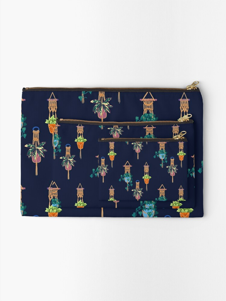 Alternate view of Another Planttern Zipper Pouch