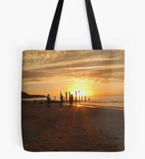 carnival time at the beach Tote Bag