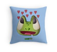 les aventures terriblement ordinaires de Franck & Zaphod Throw Pillow