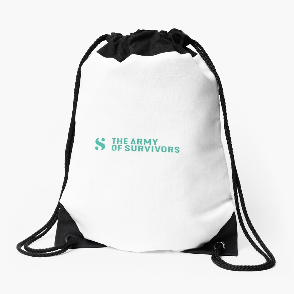 The Army of Survivors: Brand Drawstring Bag