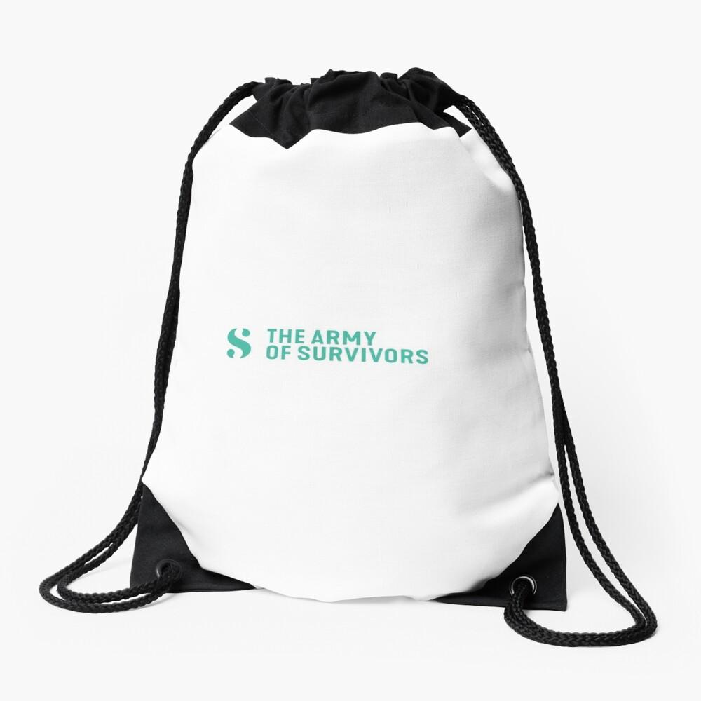 The Army of Survivors: Brand Drawstring Bag