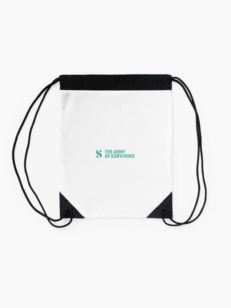 Alternate view of The Army of Survivors: Brand Drawstring Bag