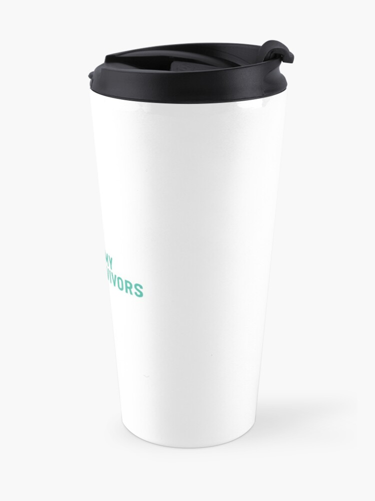 Alternate view of The Army of Survivors: Brand Travel Mug