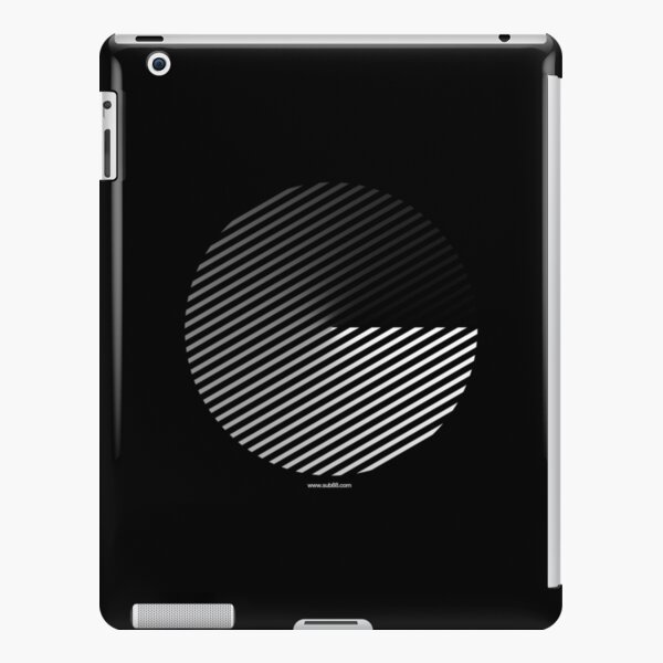 Stripes can be in a disc iPad Snap Case