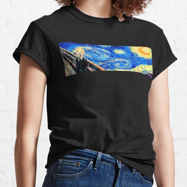 Starry Night Scream Classic T-Shirt