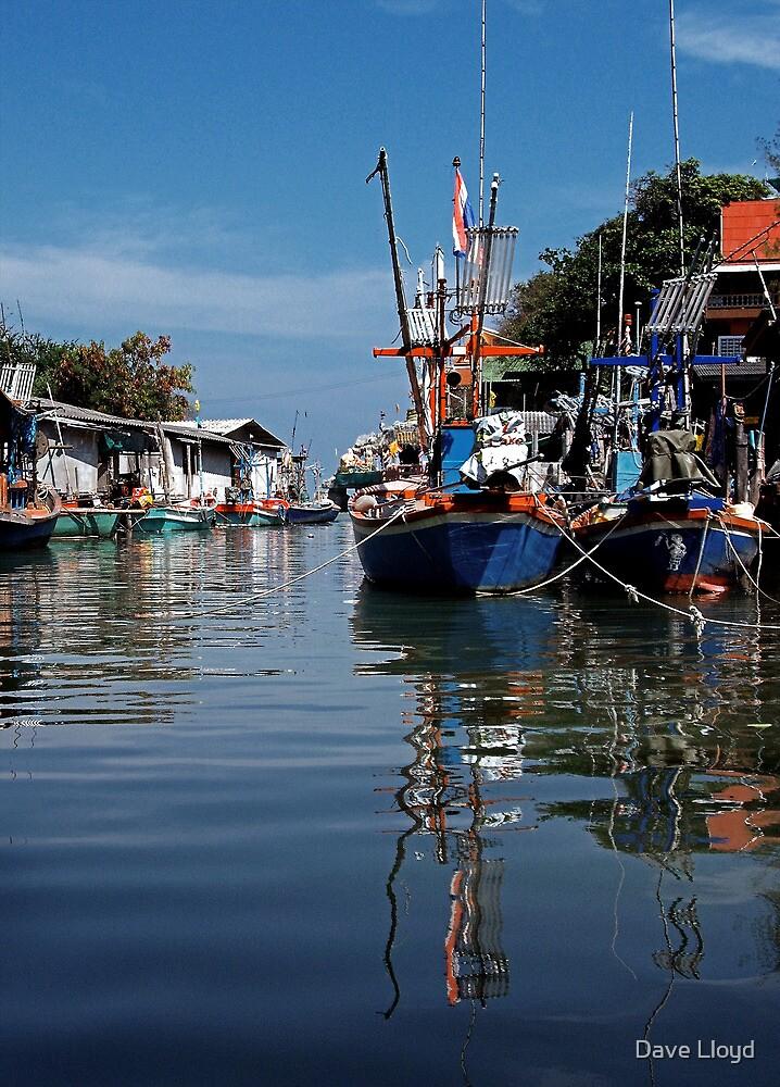 Fishing Village by Dave Lloyd