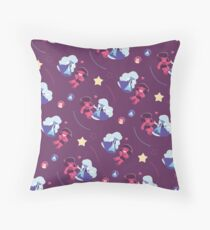 Ruby & Sapphire Throw Pillow