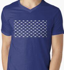 Es regnet Musik T-Shirt mit V-Ausschnitt