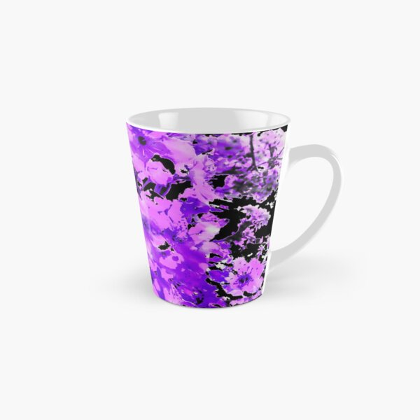 Almond Blossoms in Lavender Tall Mug