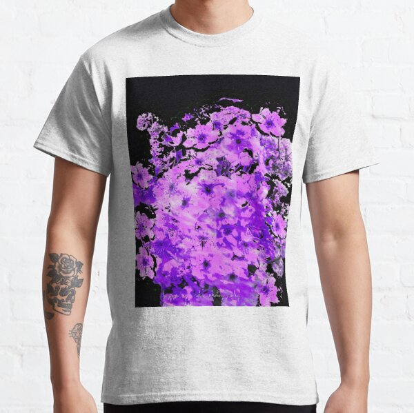 Almond Blossoms in Lavender Classic T-Shirt