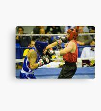 Boxing # 3 Canvas Print