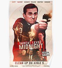 Bedrohungsstufe Mitternachtsfilmplakat Poster