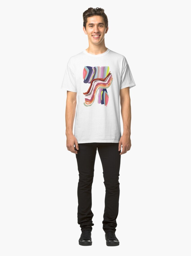 Alternate view of Id, Ego and Superego abstract and colorful Classic T-Shirt