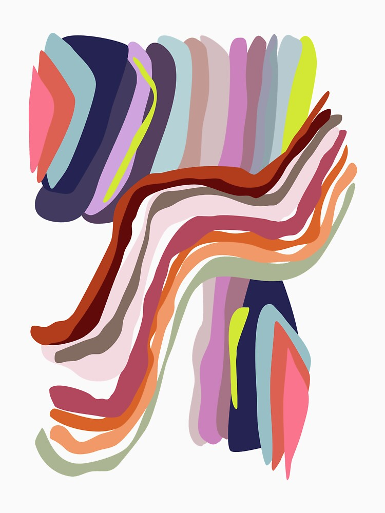 Id, Ego and Superego abstract and colorful by caligrafica