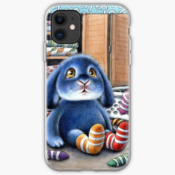 Benny Blue - Missing Socks iPhone Soft Case