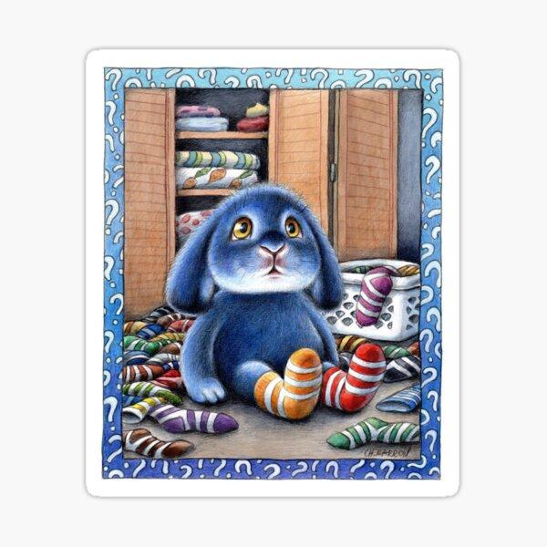 Benny Blue - Missing Socks Sticker