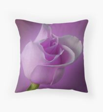 Mystical Purple Throw Pillow