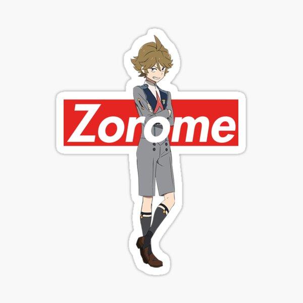 Zorome - Supreme Box Logo DARLING in the FRANXX Sticker