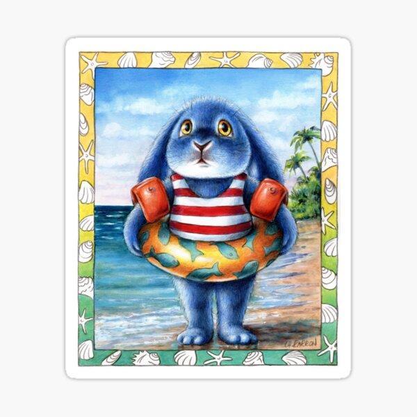 Benny Blue - On the Beach Sticker