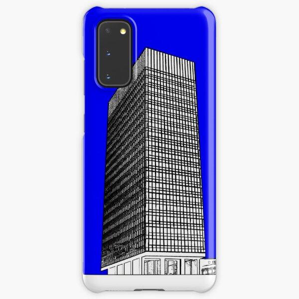 Sheffield University Arts Tower- Blue Samsung Galaxy Snap Case
