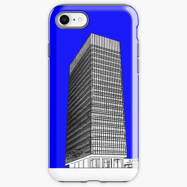 Sheffield University Arts Tower- Blue iPhone Tough Case