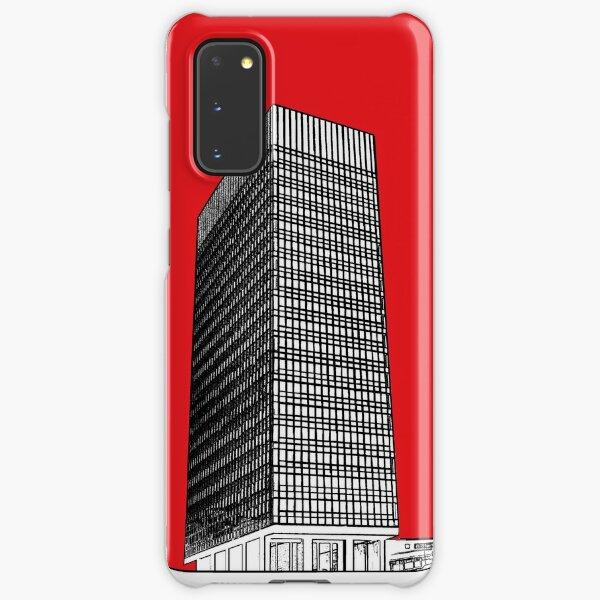 Sheffield University Arts tower - red Samsung Galaxy Snap Case