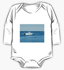A large boat on its way out to sea for some fishing- Werribee Sth. One Piece - Long Sleeve