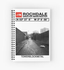 The Real North - Rochdale Spiral Notebook