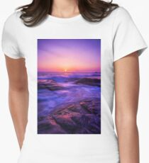 Aliso Sunset Women's Fitted T-Shirt
