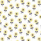 Nette gelbe Gänseblümchen von daisy-beatrice