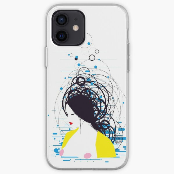 thinking in the water iPhone Soft Case