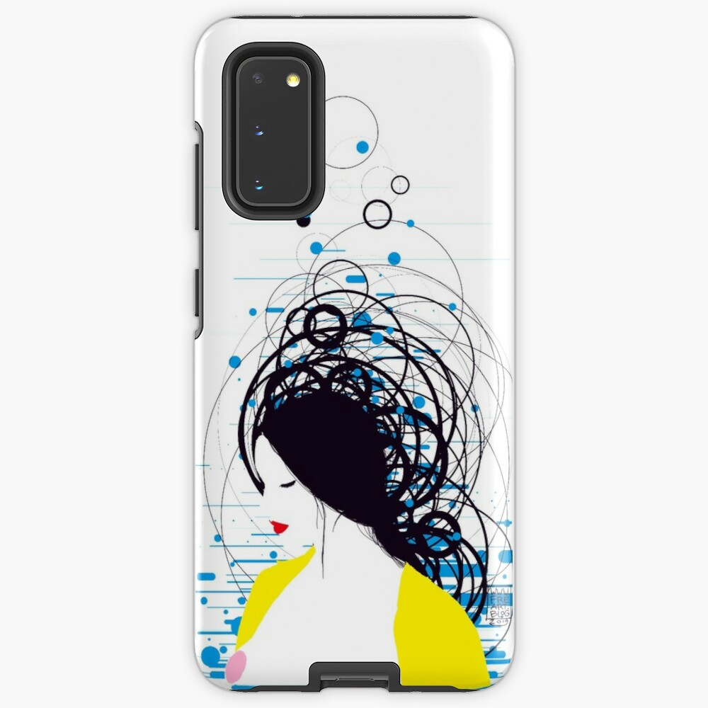 thinking in the water Case & Skin for Samsung Galaxy