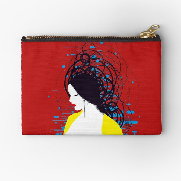 thinking in the water Zipper Pouch