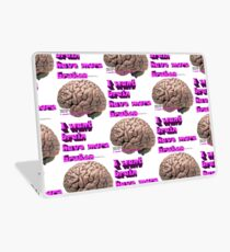 I want brain have more broken, google translate version Laptop Skin