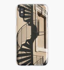 Fire escape iPhone Case/Skin